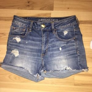 American Eagle High Waisted Shorts